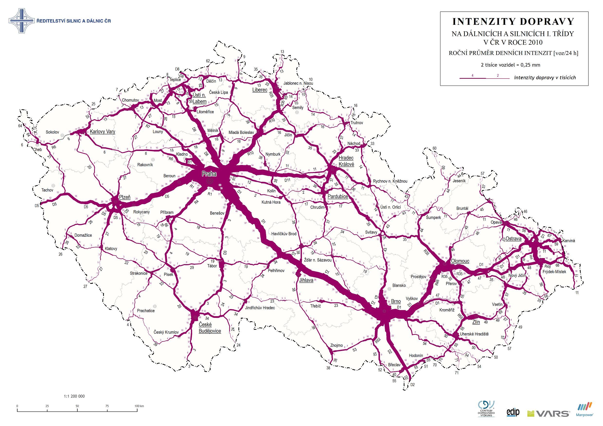 Ioda Informace O Doprave Analyzy Doprava Dopravni Statistika